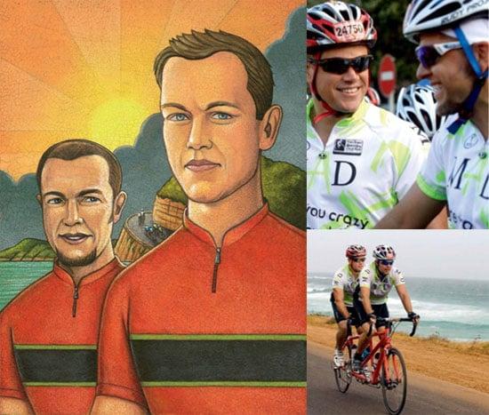 Matt and Kyle Damon in Bicycling Magazine