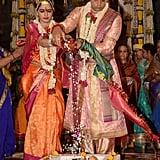 Yaduveer Krishnadatta Chamaraja Wadiyar and Trishika Kumari Singh