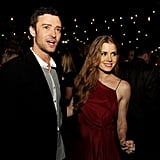 Amy Adams and Justin Timerlake linked up for their premiere of Trouble With the Curve in LA.