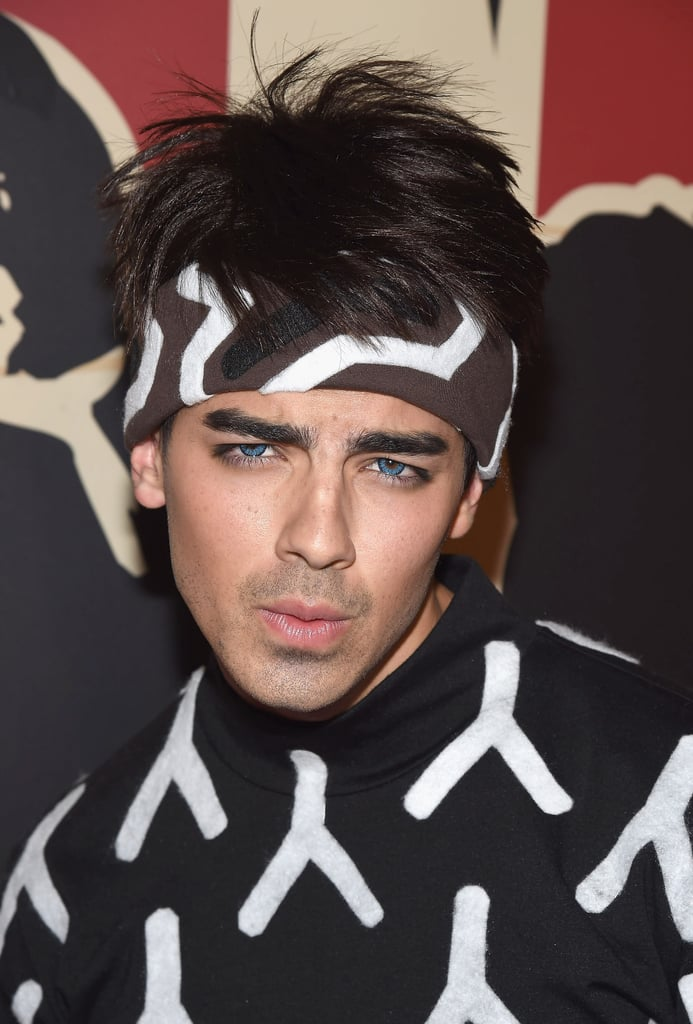 joe jonas as derek zoolander heidi klums halloween party 2014 photos popsugar celebrity photo 14 - Joe Jonas Halloween