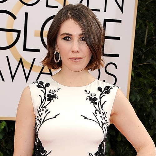 Zosia Mamet Cut Her Hair Into a Bob at the Golden Globes