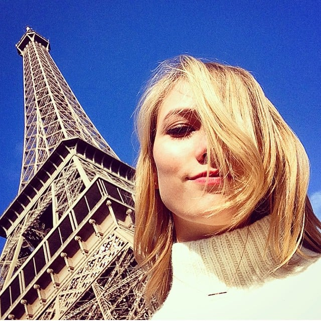 Karlie Kloss And The Eiffel Tower What Could Be More Chic Sexy