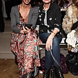 Padma Lakshmi and actress Susan Sarandon checked out Costello Tagliapietra.