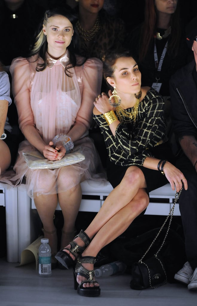 Kate Nash and Noomi Rapace at Mark Fast
