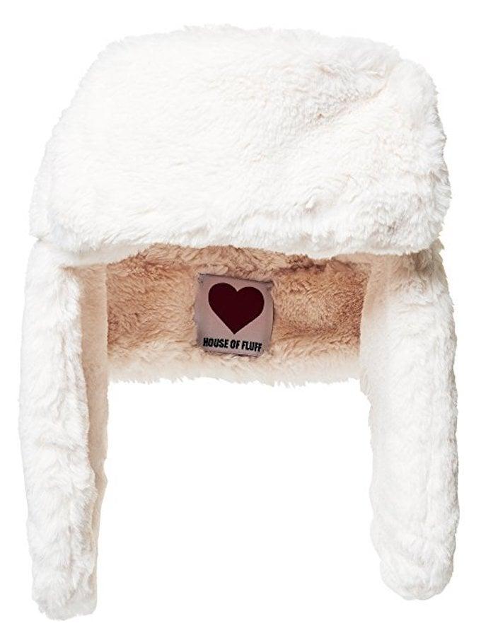 House of Fluff Women's Faux-Fur Explorer Hat