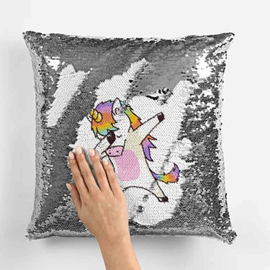 Sequin Unicorn Pillows