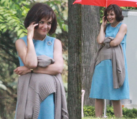 Pictures of Katie Holmes as Jackie O