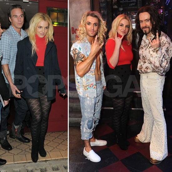 Britney Spears and Jason Trawick Have a Rock of Ages Date Night!