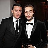 Luke Evans and Douglas Booth suited up for a fashion event in London back in February 2013.
