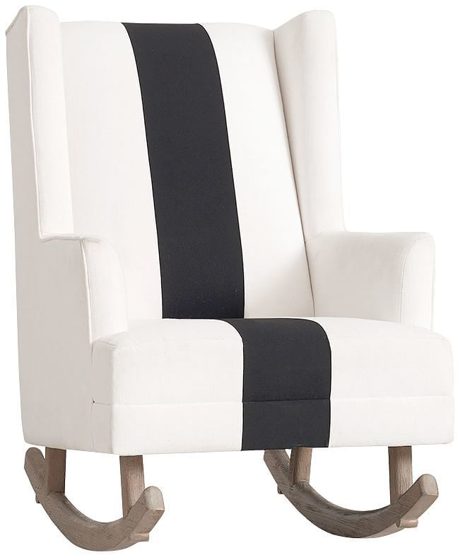 Pottery Barn Kids The Emily & Meritt Modern Wingback Convertible Rocker
