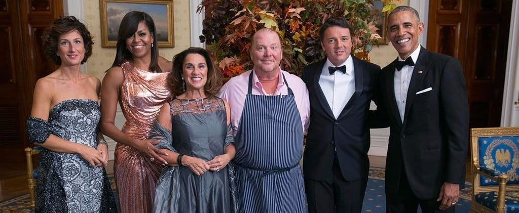 Mario Batali Should Coin the Touching Send-Off He Just Gave President Obama