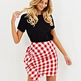 Atmos&Here Arabella Side Frill Mini Skirt ($59.95)  Discount: Enter READY30 at checkout for 30% off.