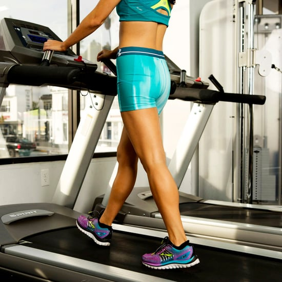 Interval Walking Workout on a Treadmill