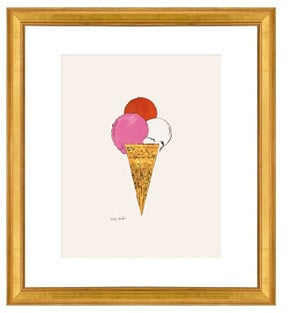 Andy Warhol, Ice Cream Dessert ($92)