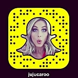 Julianne Hough on Snapchat: jujucaroo