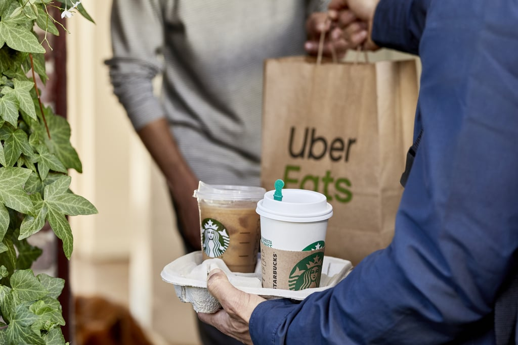 Online ordering is great and all, but Starbucks is about to make things even easier with delivery through Uber Eats. While only certain locations currently offer delivery through courier services like Postmates and Grubhub, the coffee chain just announced it will be partnering with Uber Eats to offer what should be a more seamless and efficient delivery system.  Starbucks will be available in the app starting Jan. 22 to San Francisco residents only, with the delivery option launching in New York City, Los Angeles, Chicago, Boston, and Washington DC over the coming months. The exciting announcement comes after earlier rumors that Starbucks was exploring a partnership with Uber Eats and Forbes reported that a quarter of Starbucks's 8,000 stores nationwide would likely offer delivery. While we don't have any additional details at this time, we do know the temptation to stay in will be really real now.      Related:                                                                                                           This Starbucks Tumbler Scores You an Entire MONTH of Free Coffee — Yes, Really