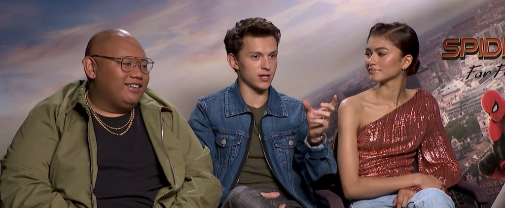 Tom Holland Reacts to Benedict Cumberbatch Impression of Him
