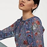 H&M Airy Blouse With Flounces