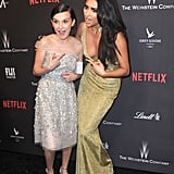 Millie Bobby Brown and Shay Mitchell
