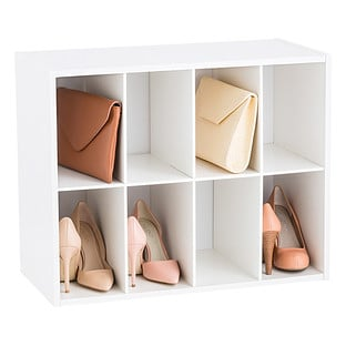 Eight-Pair Shoe and Purse Organizer