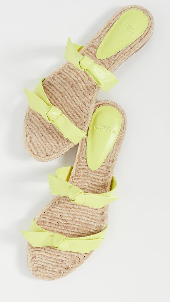 Alexandre Birman Clarita Braided Flat Slides