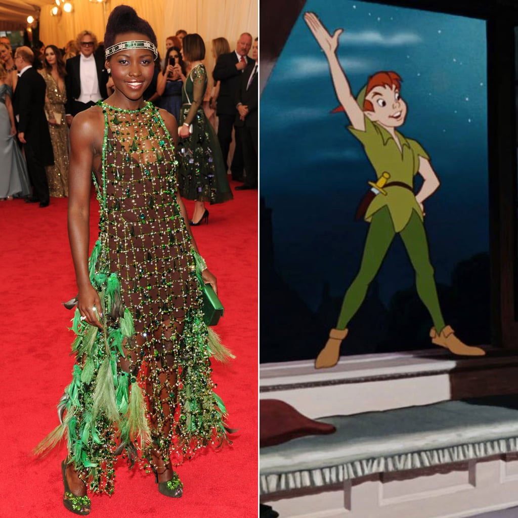 Lupita Nyong'o as Peter Pan