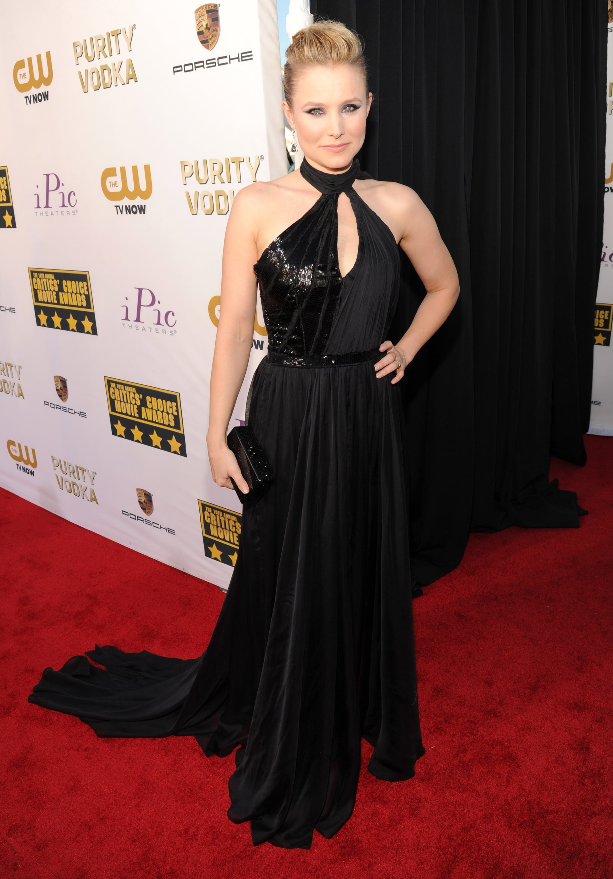 Kristen Bell at the Critics' Choice Awards 2014
