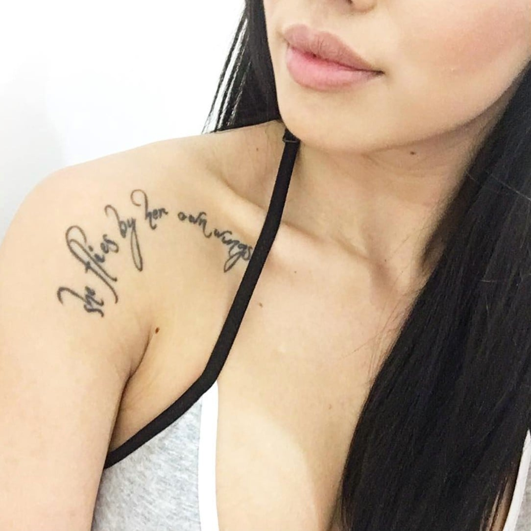 Collarbone Tattoo Ideas Popsugar Love Sex