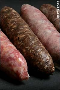 Yucky Link: Blood Sausages Made From Human Blood