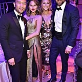 Chrissy Teigen and John Legend at Time 100 Gala