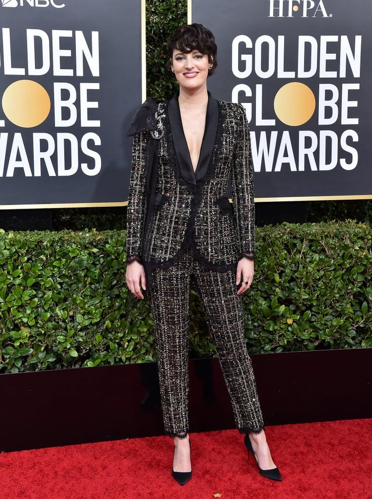 Phoebe Waller-Bridge Wears Ralph & Russo to the Golden Globes 2020