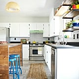 When doing a kitchen, keep the original layout but make appliances all new