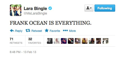 Agreed, Lara Bingle.