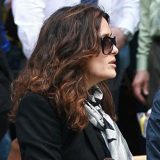 Salma Hayek Pictures in Boston With Daughter Valentina Pinault