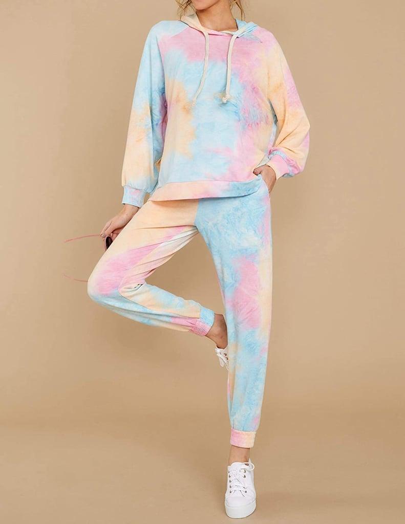 Viottiset 2 Piece Tie Dye Sweatsuit Lounge Set Best Tie Dye Clothes On Amazon 2020 Popsugar Fashion Uk Photo 26