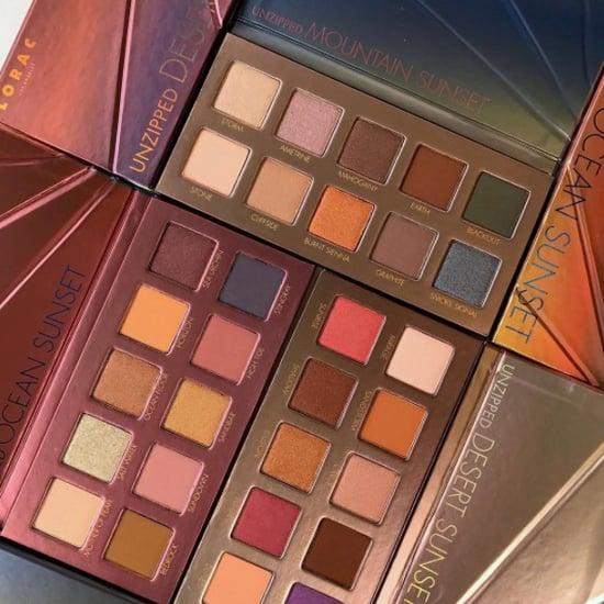 Lorac Unzipped Sunset Palettes