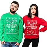 Coordinating Christmas Sweatshirts