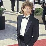 A young Kirk Cameron arrived in style at the show in 1987.