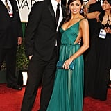 Channing brought Jenna as his date to the 2012 Golden Globe Awards in LA.
