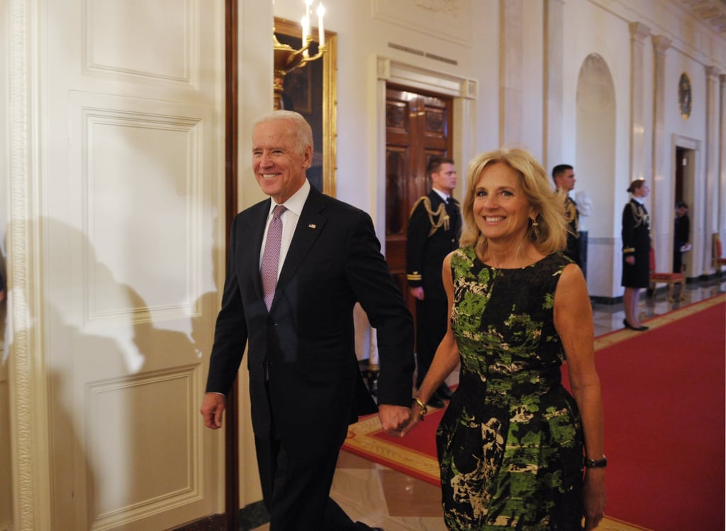 Vice President Joe Biden attended the event with his wife, Dr. Jill Biden.
