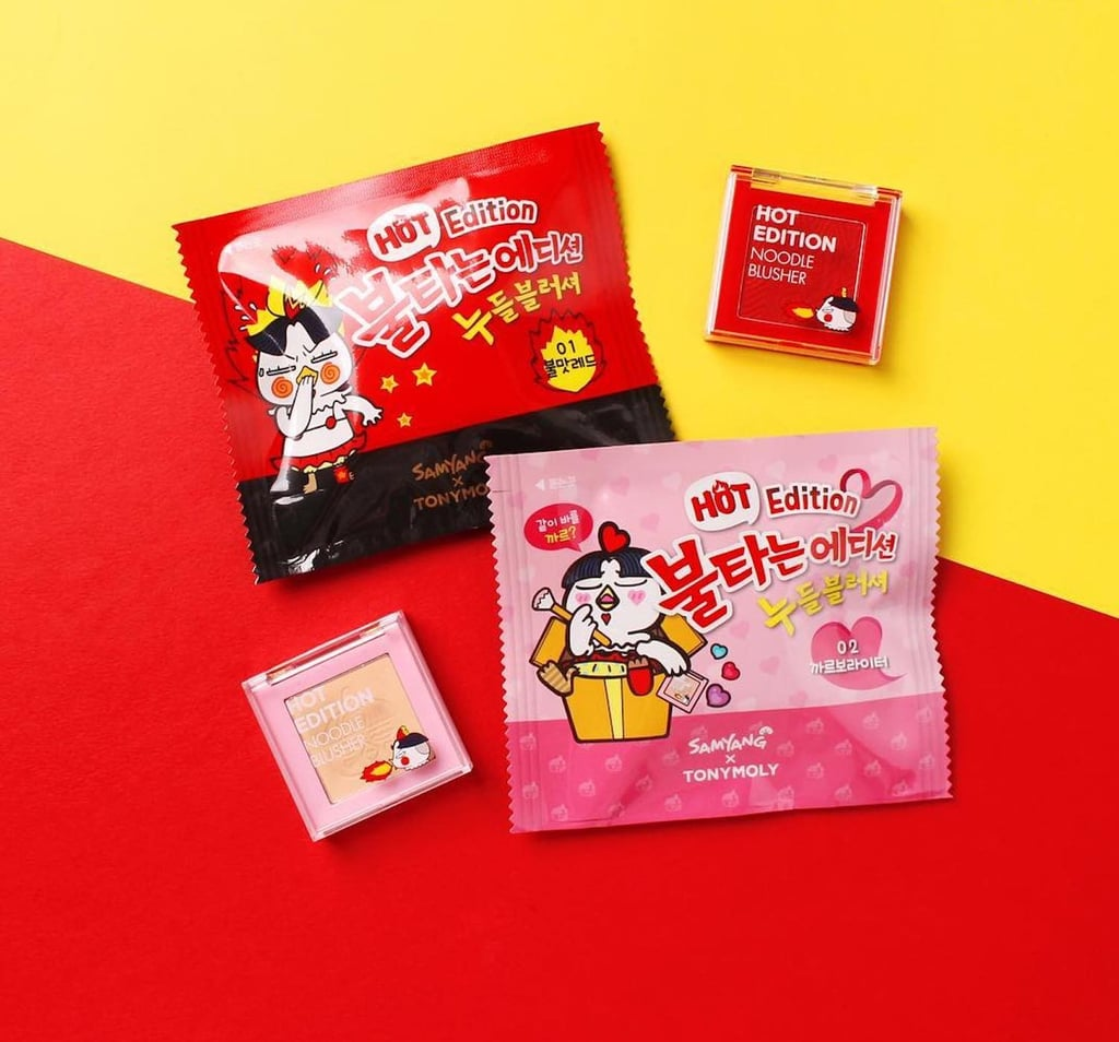 TonyMoly Launches Ramen Beauty Products
