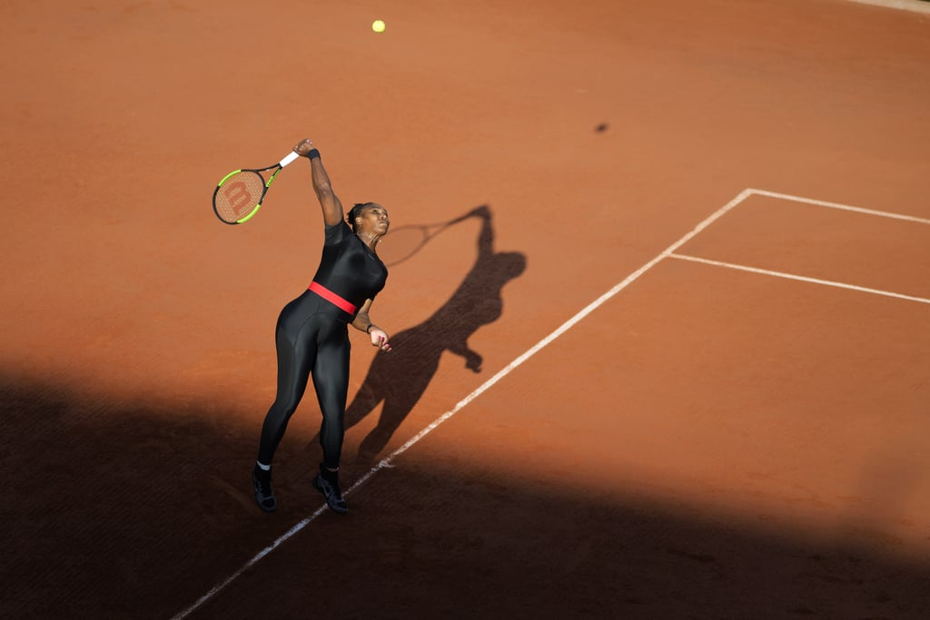 Who Can Forget Her Catsuit at the 2018 French Open?