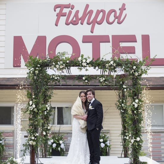 This Couple Got Married at Schitt's Creek's Rosebud Motel