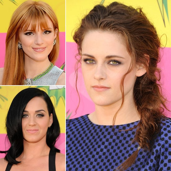 Look Back: The Best Hair and Makeup From the 2013 Kids' Choice Awards
