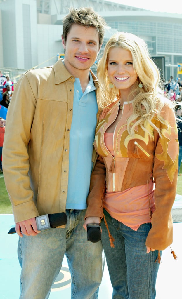 The pair attended the Super Bowl together in February 2004.