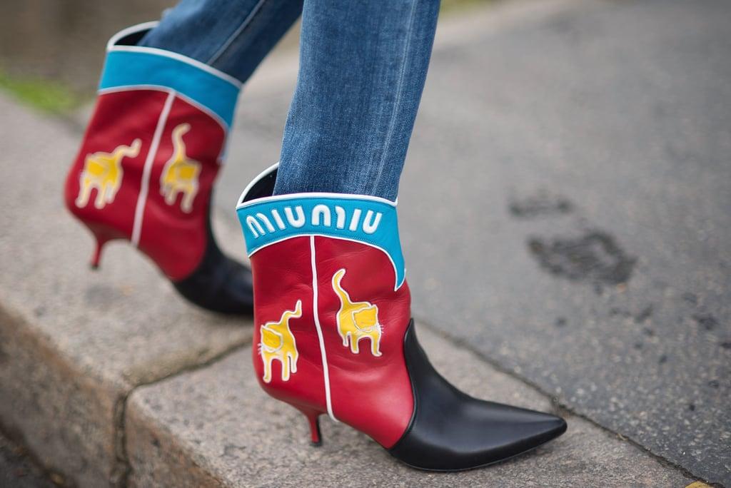 Miu Miu Street Style Shoes