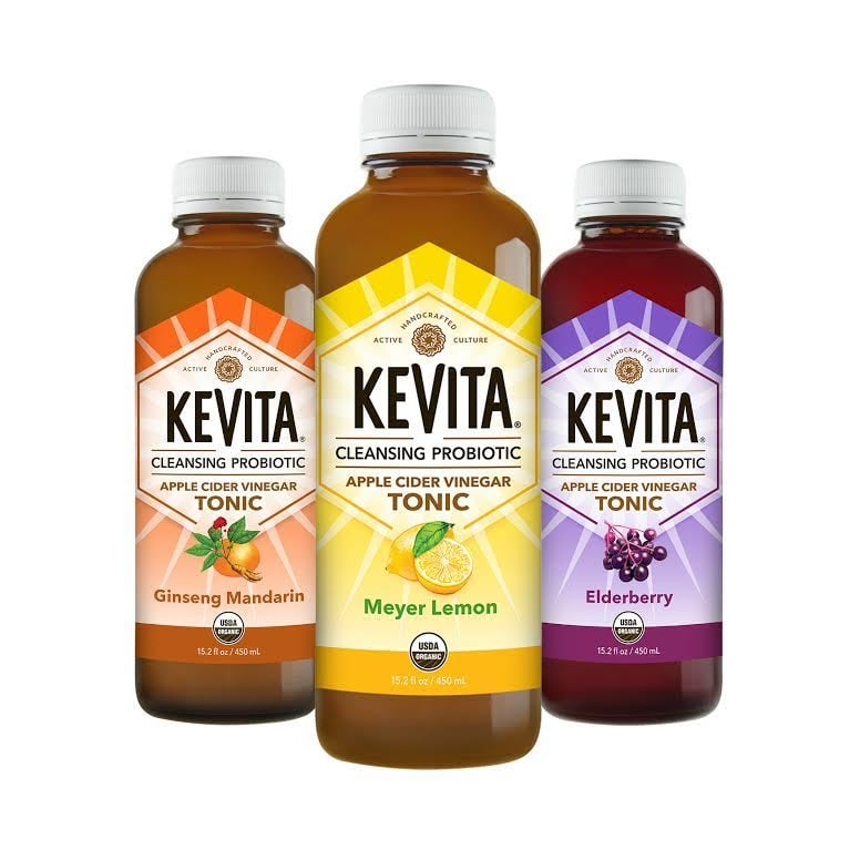 KeVita Cleansing Probiotic Apple Cider Vinegar Tonic