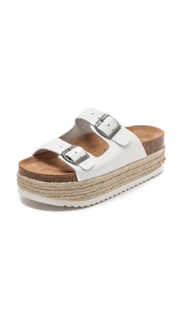 Jeffrey Campbell Aurelia Platform Espadrille Sandals ($110)