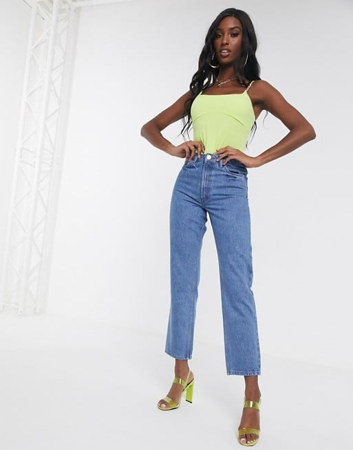 ASOS Design Tall Recycled Florence Authentic Straight Leg Jeans