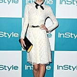 Jaime King in Jason Wu.
